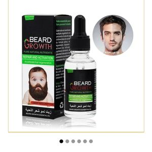 Beard growth pure natural ingredients